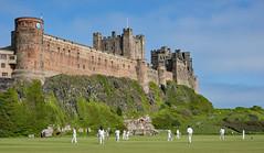 Lovely spot for Cricket! (Dibbly Dobbler) Tags: cricket bamburgh bamburghcastle sonyrx10iii