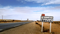 Bellil  (habib kaki 2) Tags: sahara algeria algerie panneau sud dsert     laghouat rn1  bellil  belil