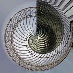 Estructura en espiral (laap mx) Tags: mars abstract lines station march europa europe belgium belgique geometry estacion 2008 abstracto liege belgica marzo 1x1 lineas geometria polarcoordinates lieja