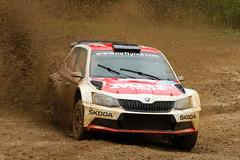 IRoQ - 2016 (Alan McIntosh Photography) Tags: car sunshine sport speed coast mud action rally tyres motorsport skoda mrf imbil