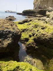 Fels Brandung Steinig (esseffdeearr) Tags: portugal algarve olhos dagua riu guarana praia da falesia albufeira portimao vacation