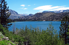 June Lake, Sierra Nevada, CA 6-20-16 (inkknife_2000 (6.5 million views +)) Tags: california usa snow mountains forest landscapes skyandclouds mountainlake thunderhead junelake easternsierranevada snowonmountains carsonmountain dgrahamphoto