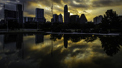 Ripples (keith_shuley) Tags: sunrise reflections golden austintexas ripples olympusomdem1