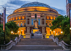 Royal Albert Hall (James Neeley) Tags: london royalalberthall rah bluehour jamesneeley