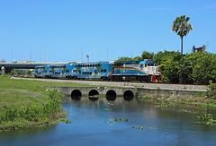 812, West Palm Beach, 21 June 2016 (Mr Joseph Bloggs) Tags: park railroad usa west beach america train gm florida miami united rail railway palm states tri bahn treno trirail emd mangonia gp49h3