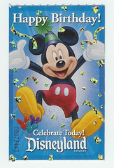birthday ticket (punkin405) Tags: mike mom heidi maddie kevin disneyland heather alaina candice lynette kaiden