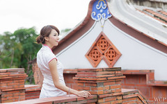 IMGL8355 (WCP(White Coat Photographer)) Tags: portrait girl canon model 外拍 旗袍 小柔 5d3 鄭珈柔