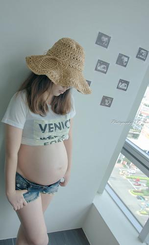 (自拍-孕)Pregnant_9