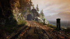 VOEC - 050 (Screenshotgraphy) Tags: sunset sky mountain lake game nature colors architecture clouds contrast montagne landscape pc screenshot lumire couleurs country lac ethan steam gaming ciel beaut carter concept nuages paysage vanishing campagne beautifull jeu naturelle urbain