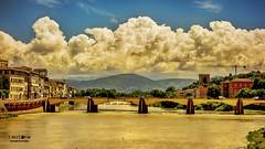 Clouds on Firenze. (Jean McLane) Tags: italy firenze italie