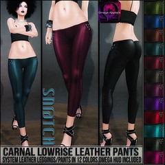 Sn@tch Carnal Leather Pants Vendor Ad LG (Tess-Ivey Deschanel) Tags: sntch snatch secondlife sl iveydeschanel ivey ihearts clothing clothes clubwear costumes cyberpunk casual capris 4thofjuly mesh model meshclothing meshclothes models bikinis summer punk pants pixels pvc party deschanel designer dresses discount