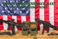 Happy Independence Day (S.Dobbins) Tags: slr america freedom day arms flag 4th july battle american pistol strike armory independence fourth corp development ets ar15 industries accurate alg bcm centurion advanced 9mm aac glock munitions silencer fortis sbr 556 armament suppressor aimpoint mvb magpul rifleworks qc10 thordsen magpod