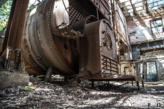 Photographing the Abandoned Hales Hunter Red Rooster Red Comb feed Factory - Urbexing Chicagoland (RickDrew) Tags: old red urban building brick rot abandoned chicken industry rock stone canon photography illinois rust iron peeling factory decay steel failure pillar columns ruin may mortar vandal vandalism oxidation bloom 5d rusting column feed furnace decomposition pillars exploration decline economy dilapidation corrosion boiler blight decadence consumption crumbling supports oxydation fallingapart urbex bankrupt deterioration degeneration atrophy disintegration failing decrepitude ruination caries depreciation 2013 decrease degeneracy halesandhunter redcomb