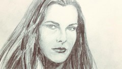 Carole Bouquet as Melina Havelock (DarrenParrettArtwork) Tags: portrait pencils sketch melina jamesbond foryoureyesonly carolebouquet melinahavelock uploaded:by=flickrmobile flickriosapp:filter=nofilter