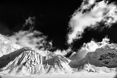 Mt. Hunter (TroyMasonPhotography) Tags: mountain snow ice alaska glacier denali mckinley crevasse mtmckinley sierraclub rmi westridge droh kahiltna k2aviation kahiltnaglacier mthunter mountainclimb bergschrund rainiermountaineering dailyrayofhope troymasonphotographycom dailyrayofhope2013 alpineseminar