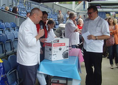 BBQ Competition at the Fantasic Food Show - 8 (Tony Worrall Foto) Tags: show uk people food game fun outdoors northwest candid north cook tasty competition bbq blackburn event eat burn taste cooked char winners foodie chefs footballstadium weberbarbecue nigelhaworth 2013tonyworrall edwoodpark atnigelhaworthsfantasticfoodshow2013