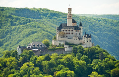 Romantic Rhine: Marksburg castle (rheinland-pfalz) Tags: cruise vacation holiday castle river germany rhine middlerhine marksburg braubach