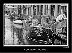 Glaciere of Liverpool (Mike Parr) Tags: blackandwhite architecture liverpool river mono blackwhite unesco riverfront albertdock urbanlandscape merseyside rivermersey nikond200 mikeparr liverpoolwaterfront pierheadliverpool flickriver opencultureliverpool mikeparrphotography worldheritagewaterfront glacierofliverpool