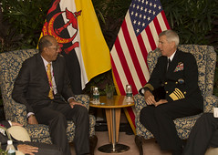 Brunei and US (#PACOM) Tags: singapore pacific shangrila admiral brunei command dialogue locklear pacom