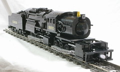 ErieL1_PF_04 (SavaTheAggie) Tags: train l1 power lego angus engine trains steam locomotive erie functions mallet articulated camelback 0880