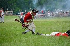 Revolution_143 (Sharp Perspective Photography) Tags: history colonial british reenactment colony musket firelock