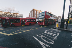 Brixton (stoyanov ) Tags: uk england fish london eye tower film thames river underground big fuji ben kodak britain 10 united great grain o2 kingdom fisheye mm process academy brixton vsco
