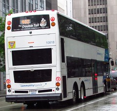 Community Transit 2010 Alexander Dennis Enviro 500 10818 (zargoman) Tags: travel bus ct double deck transportation transit tall articulated decker snohomish e500 communitytransit lowfloor enviro500 alexanderdennis