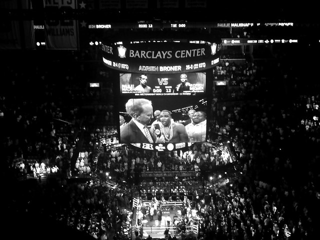 "fight night in brooklyn - ""and the winner by a split decision..."""
