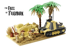 the Fall of Tobruk (Florida Shoooter) Tags: lego australia ww2 commonwealth dak tobruk afrikakorps sdkfz265