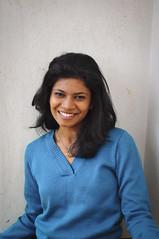 Varsha's First Shoot (mynameisharsha) Tags: blue girls portrait india girl beautiful beauty 50mm prime nikon pretty gorgeous bangalore babe chick gal stunning 18 pullover 50mmf18af d5000 mynameisharsha