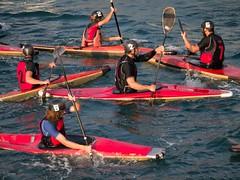 Lerici Kayaks (Hammond) Tags: red sea italy water sport harbor harbour liguria watersports canoepolo lerici kayakpolo 2013