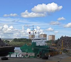 Fame (Bricheno) Tags: scotland boat ship fame escocia cargo scrapyard szkocja renfrew schottland arklow scozia renfrewshire cosse  esccia  lobnitz christieson  bricheno arklowfame scoia