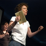 Jeanette Winterson on stage in 2006