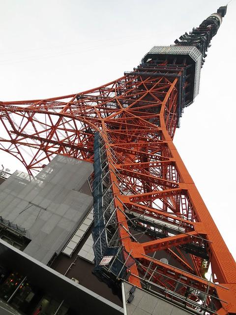 東京タワーの近くで写真撮りまくりました。|東京タワー