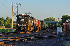 NS 1073 with a empty oil! (Machme92) Tags: santa santafe pacific union norfolk trains southern fe bnsf norfolksouthern