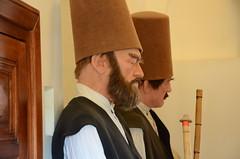Really Feeling It (Allison Mickel) Tags: tourism mannequin museum turkey nikon islam sufi konya mevlana waxperson d7000
