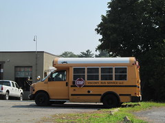FORMER Visconti Bus Service #408 (Hudson Valley Bus Photography) Tags: hi