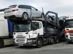 WX06BCV Autologic Scania P420 Car Transporter (graham19492000) Tags: cartransporter eddiestobart autologic scaniap420 wx06bcv