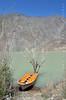 Boat, Satpara lake, Skardu (Ameer Hamza) Tags: pakistan yellow boat dam seats boating lonelyplanet seating northernpakistan ppa pakistaniphotographer northernareasofpakistan pakistaniat lonelyplanetguidetopakistan gettyimagesmiddleeast smalldamsofpakistan