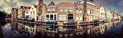 World wide photo walk Gouda Netherlands 2013 (Bas Lammers) Tags: panorama water netherlands canal photowalk kelly iphone adobephotoshopexpress