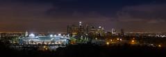 Downtown LA Panorama (KayOne73) Tags: urban panorama night landscape la los nikon angeles photos nikkor 70200 f4 photostitch photographt d600