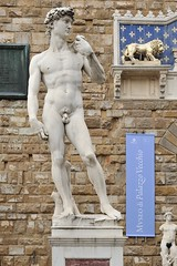 Statue of David (LYSVIK PHOTOS) Tags: city trip travel italy sculpture man david male art heritage history classic tourism monument beautiful silhouette statue stone wall architecture naked square florence artwork italian ancient italia image artistic outdoor body antique famous sightseeing culture landmark tourist historic tuscany anatomy figure firenze marble toscana michelangelo tamron toscane renaissance perfection masterpiece michelangelobuonarroti toscany 2470f28 placeofinterest d700 nikond700 sp2470mmf28divcusd tamronsp2470mmf28divcusd tamron2470f28 davidfamous
