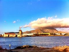 Salina Maria Stella (forsycja) Tags: sky italy clouds view sicily erice trapani iphone eryks iphone4 colorvibefilter salinamariastella