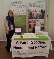 Ruth at SNP conf. stall