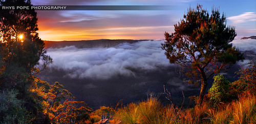 Sublime Point Bathed In Gold || LEURA || BLUE MOUNTAINS