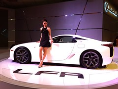 LEXUS LFA (inkid) Tags: show sexy girl car fashion female pose model glamour women pretty kim expo sweet low style international attractive shows motor kuala 13 kl glamor lumpur motorshow pwtc asianbeauty 2013 klims klims2010 kualalumpurinternationalmotorshow2010 flickrandroidapp:filter=none vision:sunset=0503 vision:outdoor=0633 vision:car=052 vision:dark=0575