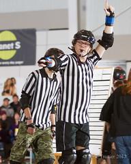 MLTL7445 (Mike Trottier) Tags: canada rollerderby can saskatoon saskatchewan pard theoutlaws killabees srdl prairielandpark saskatoonrollerderbyleague miketrottier