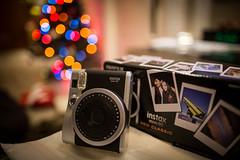 My Perfect X'MAS gift !!, Thanks my Dear!!! (Steve Wan^_______________,^) Tags: christmas love canon lens eos prime photo aperture f14 large mini hong kong gift l fujifilm 24 merry 90 ef instax 6d