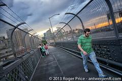 Put your head down and go...! (antwerpenR) Tags: travel au sydney australia sydneyharbourbridge 5photosaday