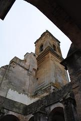 Torre campanario de la Iglesia de Santa María la Mayor la Coronada